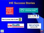 ihe success stories1
