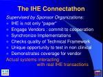 the ihe connectathon