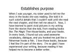 establishes purpose
