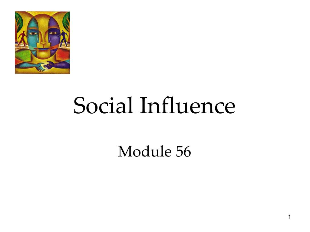 social influence module 56 l.