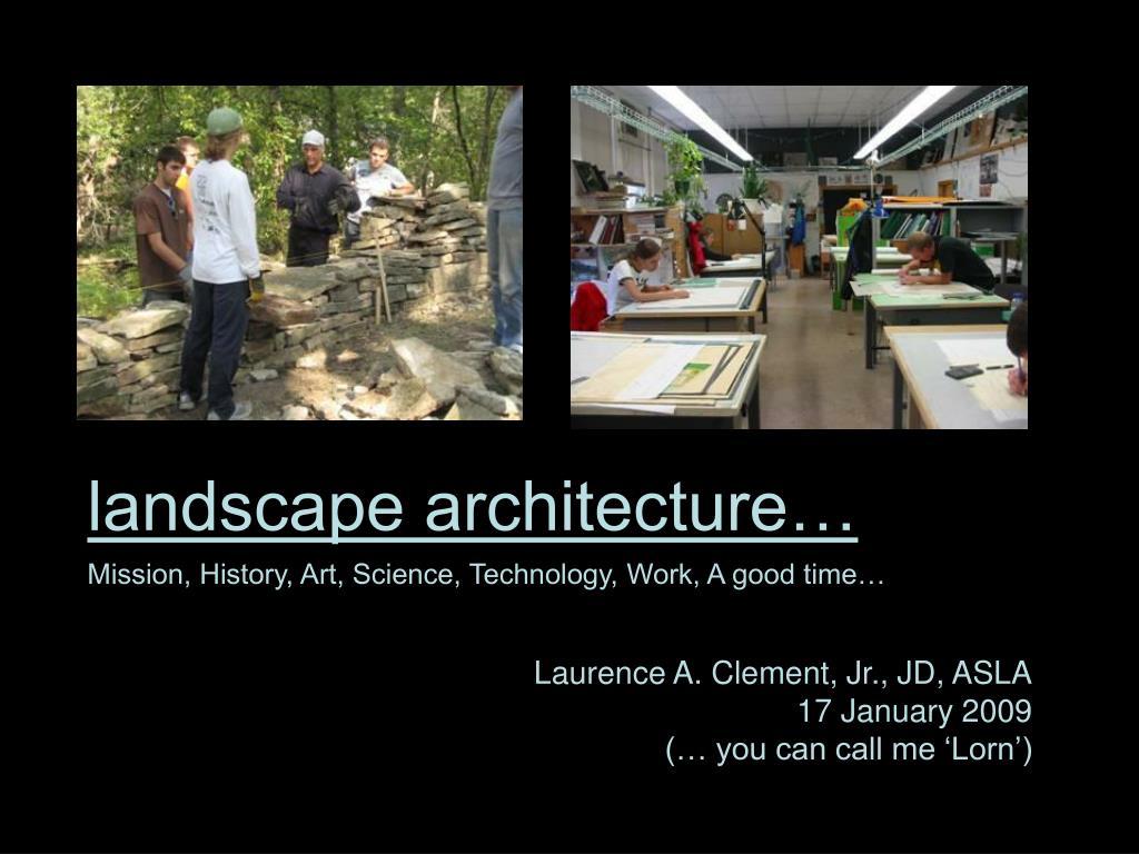 landscape architecture l.