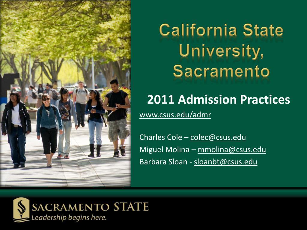 california state university sacramento l.