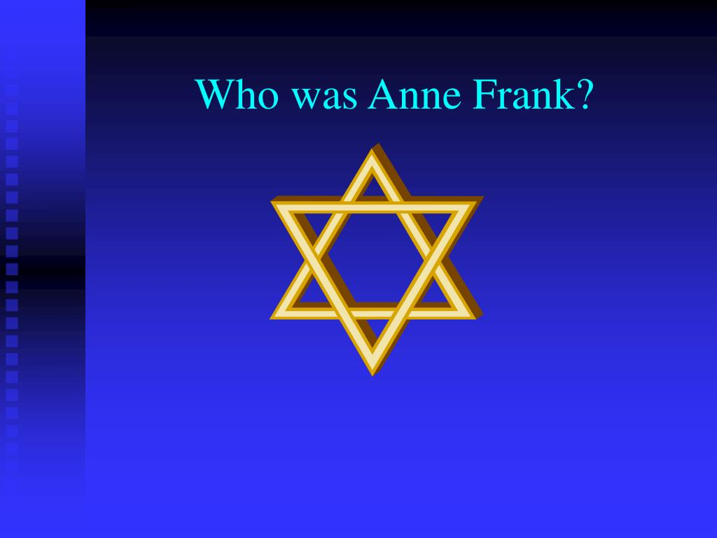 who was anne frank l.