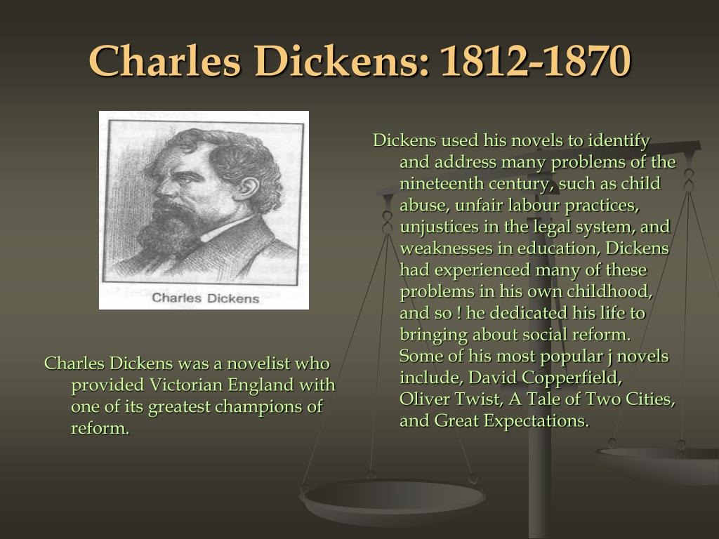 Charles Dickens: 1812-1870