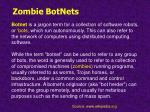 zombie botnets