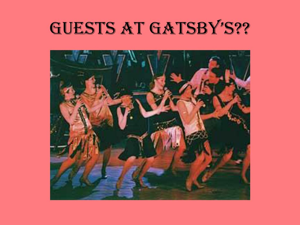 Guests at Gatsby's??