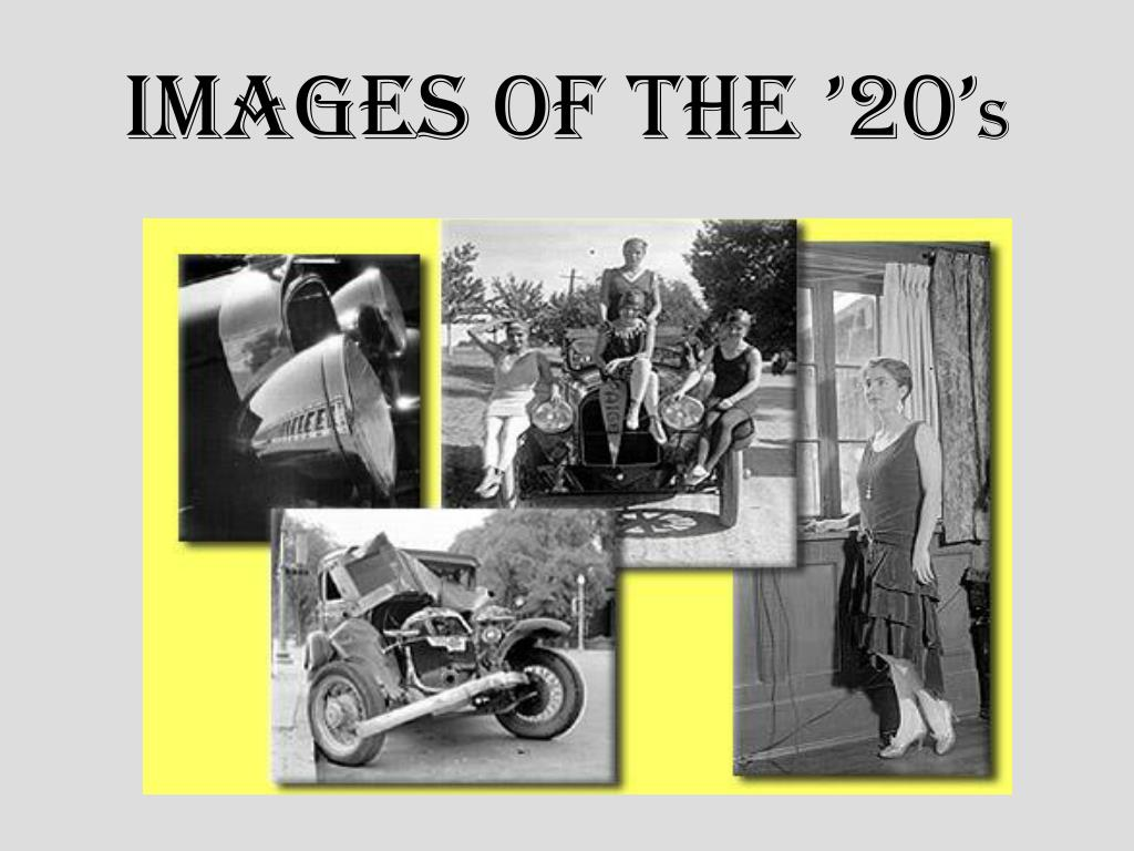 Images of the '20'