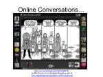 online conversations