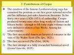 2 contributions of cooper