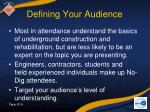 defining your audience5