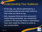 understanding your audience