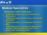 medical specialties87