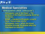 medical specialties88