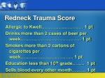 redneck trauma score41