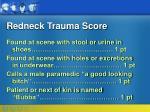 redneck trauma score43