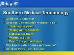 southern medical terminology10