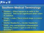 southern medical terminology12