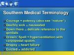southern medical terminology13