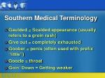 southern medical terminology15