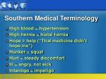 southern medical terminology18
