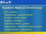 southern medical terminology19