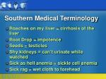 southern medical terminology27