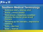 southern medical terminology29