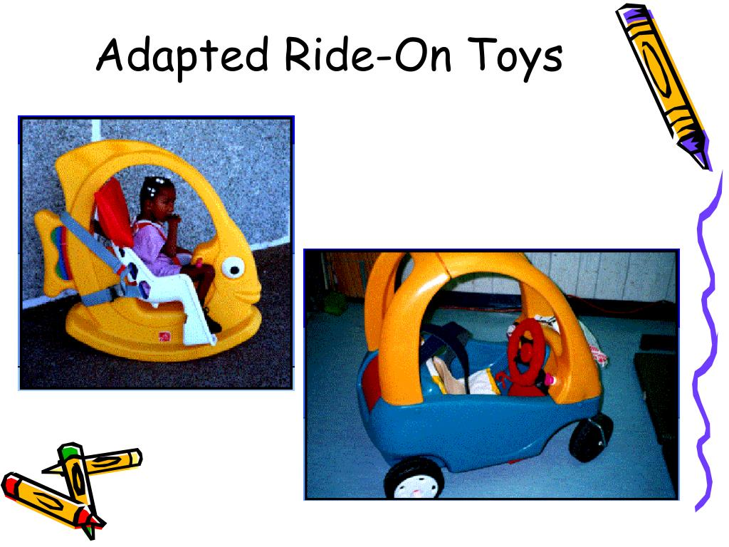 Adapted Ride-On Toys