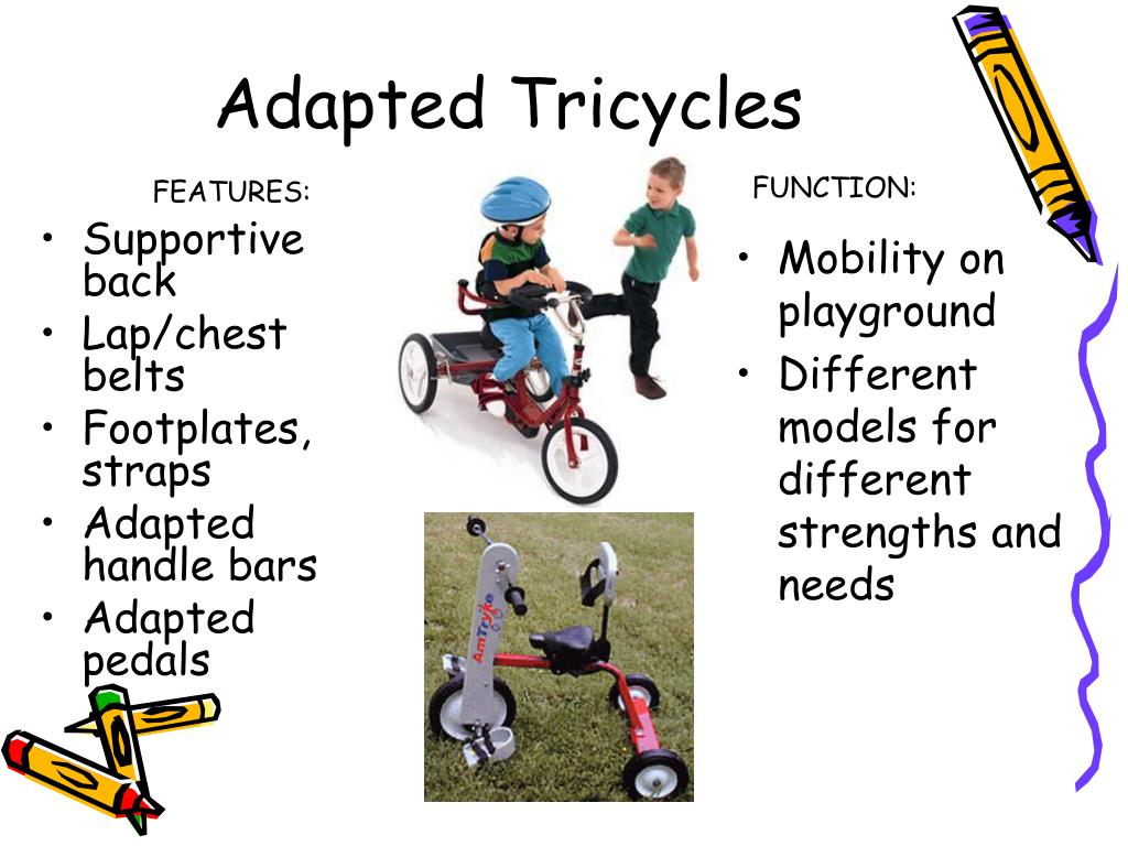 Adapted Tricycles