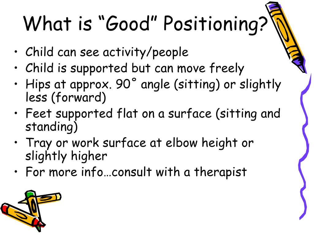 "What is ""Good"" Positioning?"