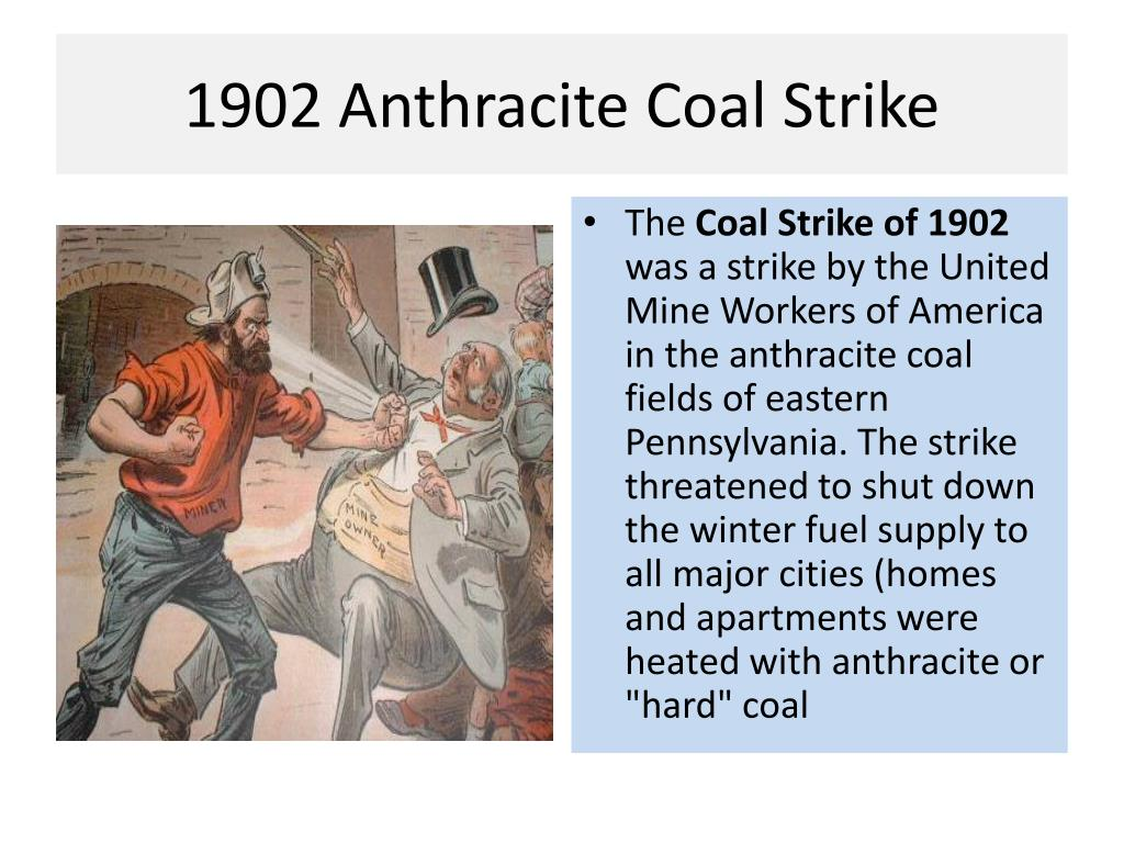 1902 Anthracite Coal Strike