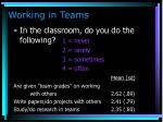 working in teams84