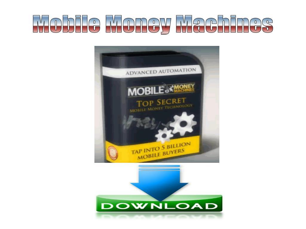 Mobile Money Machines