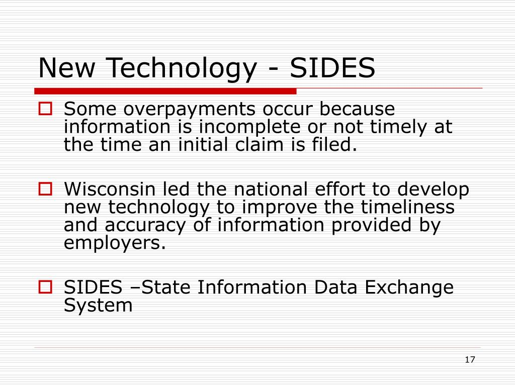 New Technology - SIDES