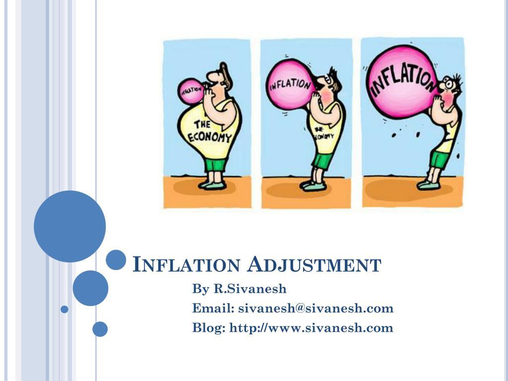 Inflation Adjustment