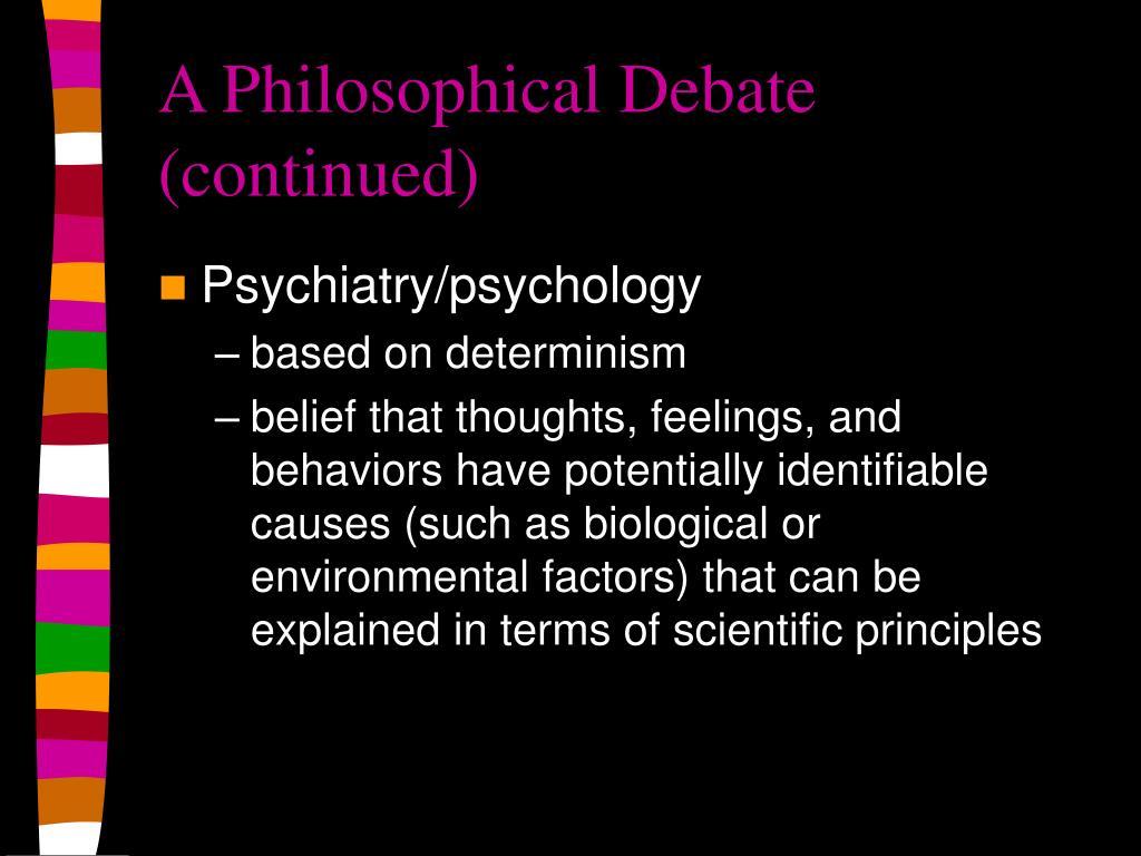 biological determinism essay