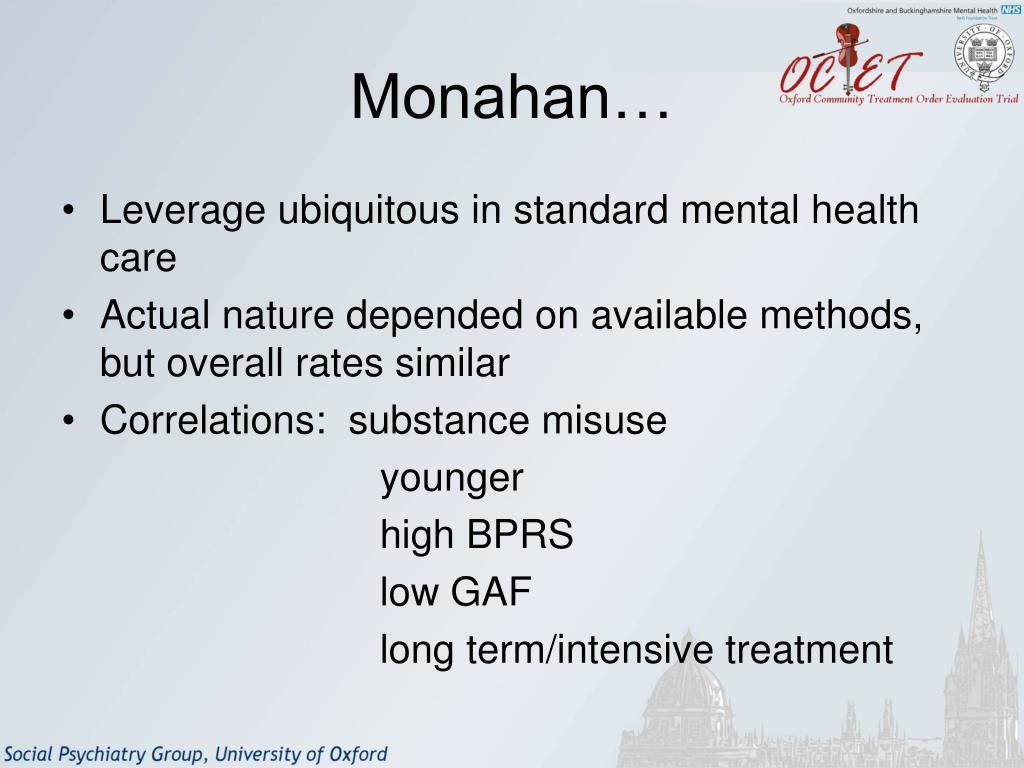 Monahan…