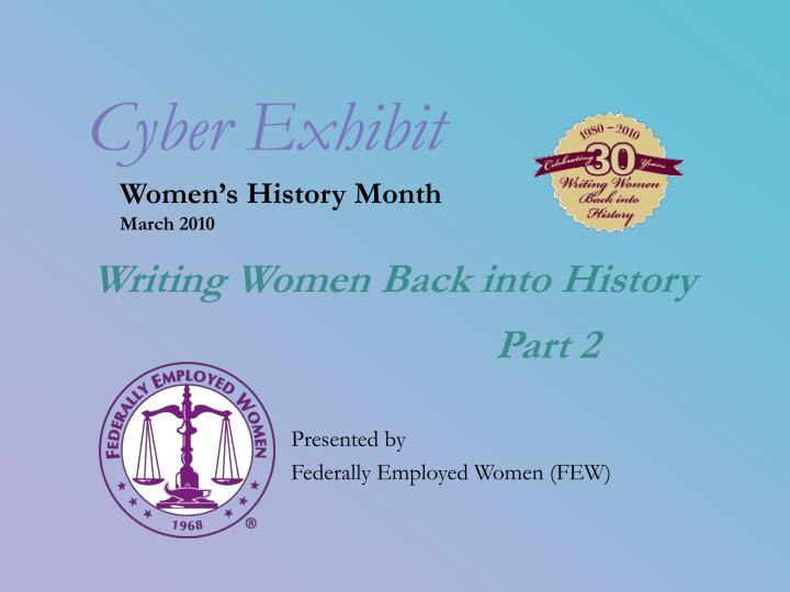 Women s history month march 2010