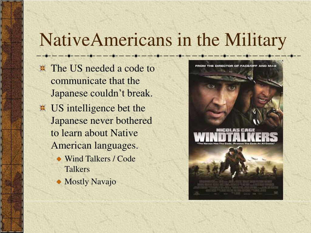 NativeAmericans in the Military