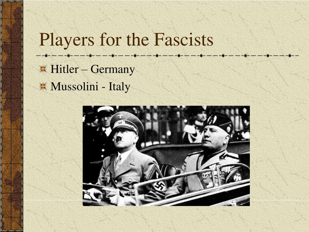 Players for the Fascists