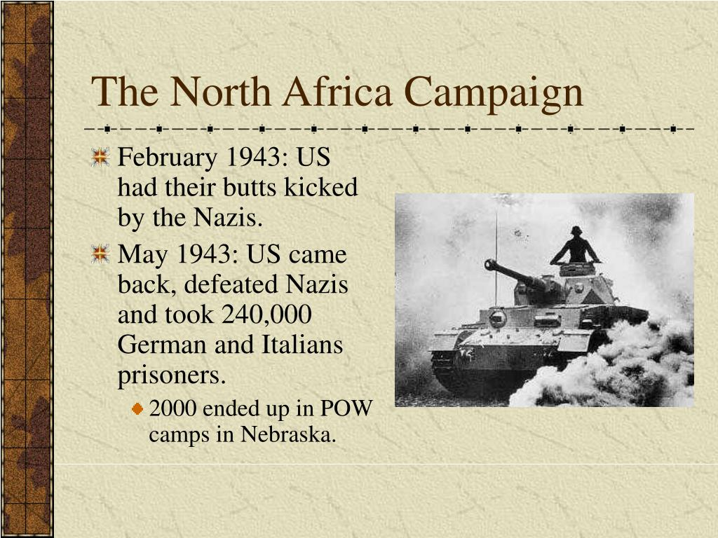 The North Africa Campaign