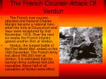 the french counter attack of verdun