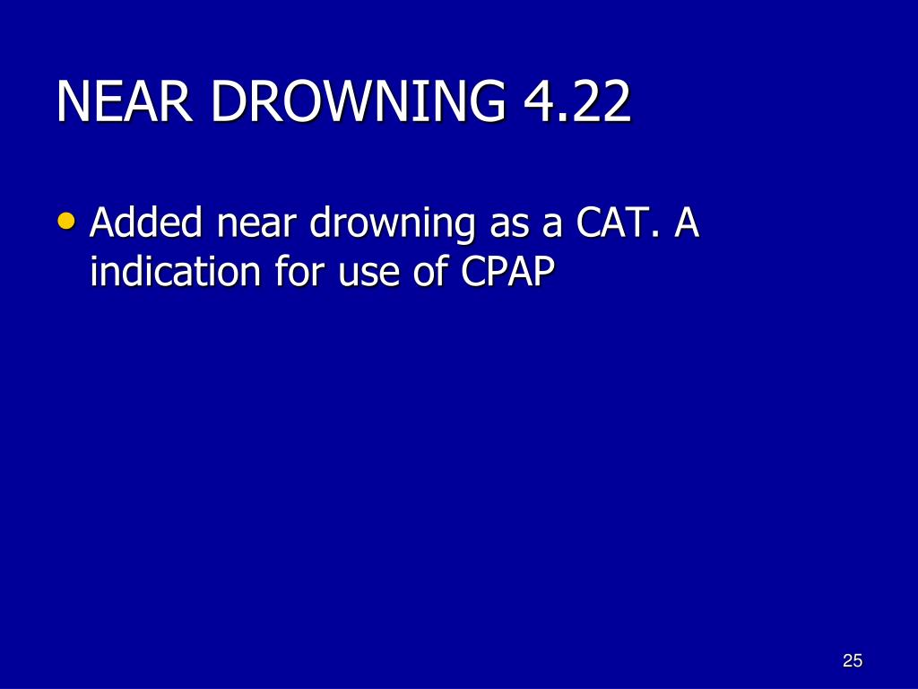 NEAR DROWNING 4.22