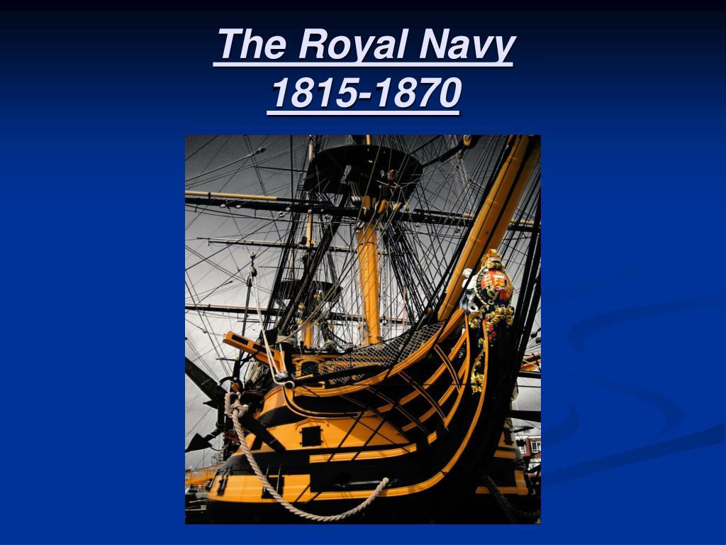 the royal navy 1815 1870 l.