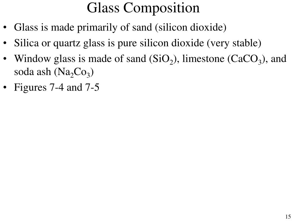 Glass Composition