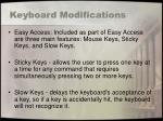 keyboard modifications