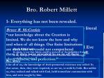 bro robert millett