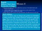 moses 4