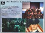 m40 s wilderness survival class3