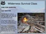 wilderness survival class23